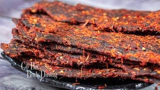 [Eng Sub] Cách làm Khô Bò đơn giản mà ngon - How to make Beef Jerky