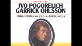 Chopin: 3 Mazurkas, Op. 59, Ivo Pogorelich Live at the Chopin Competition 1980