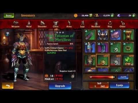 Eternity Warriors 3 Gameplay (HD) Monk (iPhone 5)