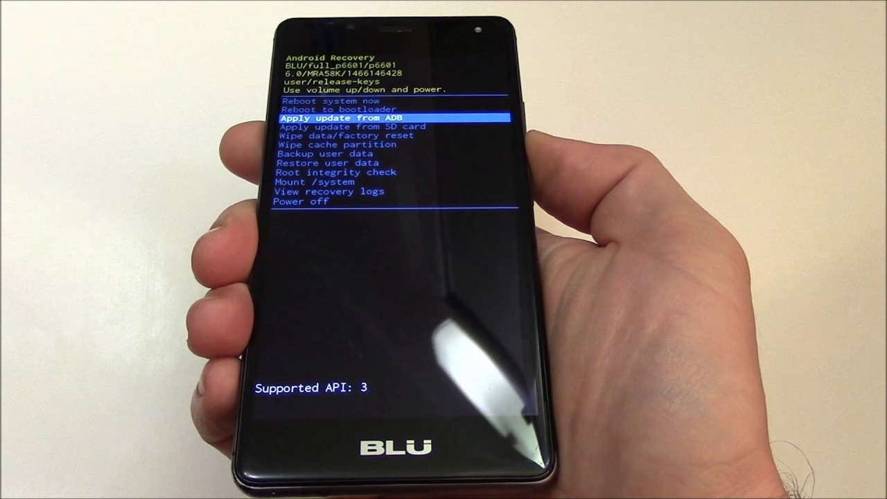 How To Hard Reset A BLU R1 HD Smartphone