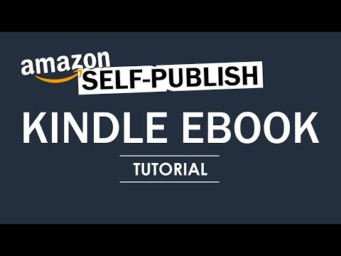 How to Self-Publish an E-Book on Kindle Direct Publishing - Amazon - Full Tutorial