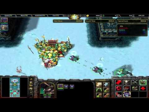 Warcraft III: The Frozen Throne X Hero Siege 3.33