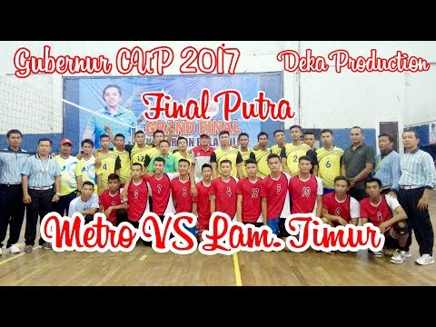"Adu Spike Galang CS VS Doni CS Metro VS Lampung Timur ""Gubernur CUP 2017"" | Deka Production"