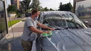 Самвел первый раз на автомойке моет машину в ручную