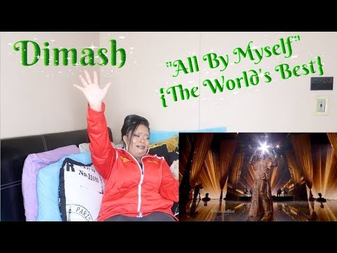 "Dimash-""All by myself""{The World&39;s Best}Reaction*I HURT MY FOOT😰*"