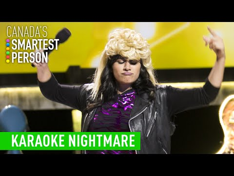 Julie's Karaoke Nightmare | Canada's Smartest Person | CBC