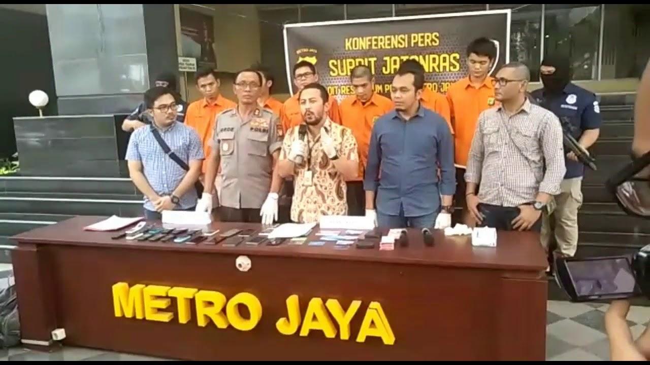 Jatanras PMJ Ringkus Sindikat Pembobol Nasabah Bank