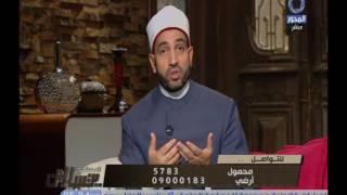 سالم عبد الجليل: حق الجار على جاره تحمل أذاه.. فيديو