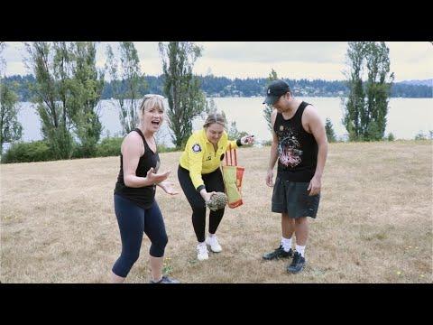 Spikey Soccer - Brooke & Jeffrey's Summer Games
