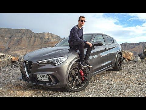 L'ALFA ROMEO STELVIO QUADRIFOGLIO EST UN SUV-SUPERCAR! ESSAI À DUBAI!