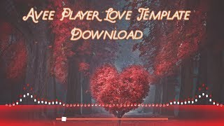 New Avee Player Music Visualizer Template Download 2020 Free