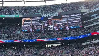 Bria Lee Sings National Anthem...