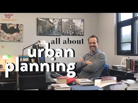 What is Urban Planning? with Dr. David Bieri