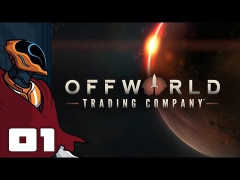 Let's Play Offworld Trading Company Multiplayer - PC Gameplay Part 1 - I Wanna Be The Very Richest