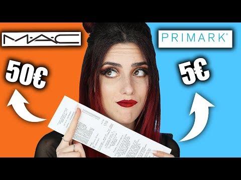 Primark Make up VS Mac Make up! FULL FACE Make up VERGLEICH I Luisacrashion