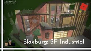 Roblox | Bloxburg: SF Industrial Home (330k)