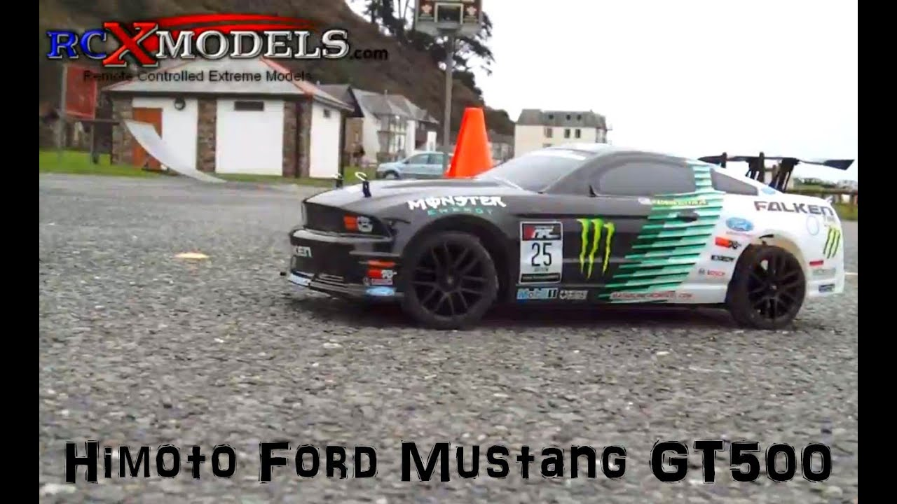 Nitro Rc Ford Mustang Jumping Drifting And Rallying Youtube