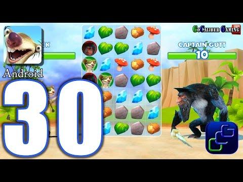 ICE AGE Adventures Android Walkthrough - Part 30 - Rhino, Sandy Diego, Captain Gutt