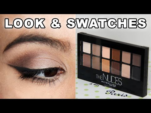 Maybelline The Nudes Palette First Impressions & Tutorial