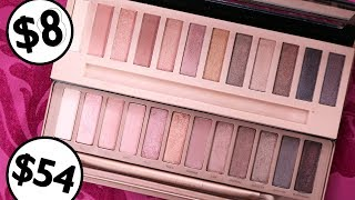 $8 Drugstore DUPE for Urban Decay Naked 3 Palette?
