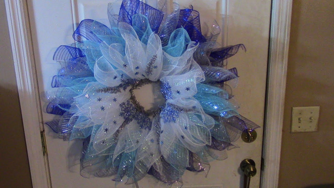 Carmens DollarTree Snowflake Flower Made With All ZipTies