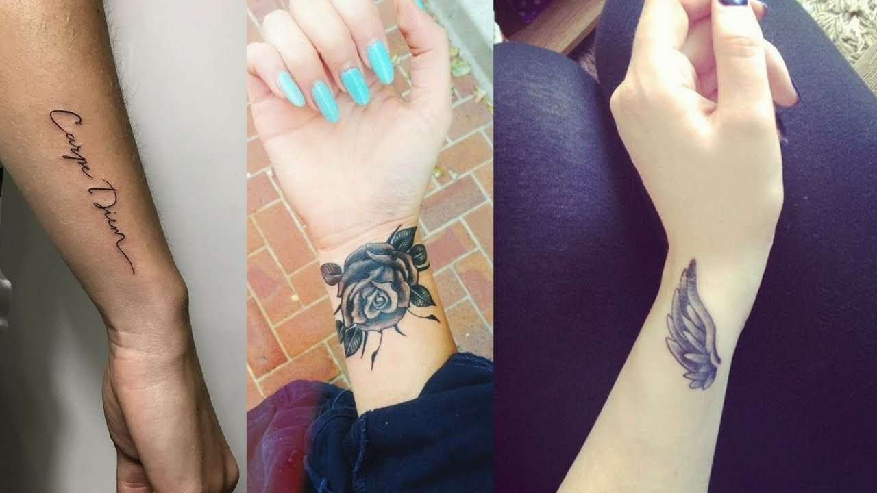 Unique Wrist Tattoos For Men Women Youtube