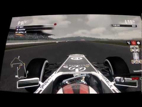 F1 2011 British Grand Prix, Silverstone 8.01.2012