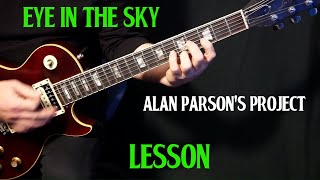 "Gambar cover how to play ""Eye In the Sky"" on guitar by the Alan Parsons Project 