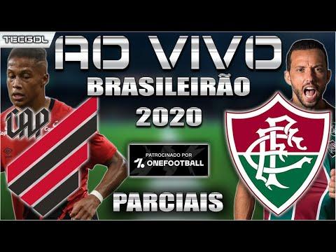 Athletico-PR x Fluminense Ao Vivo   Brasileirão 2020   Parciais Cartola FC   5ª Rodada   Narração