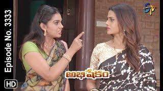 Abhishekam | 20th September 2019  | Full Episode No 3333 | ETV Telugu