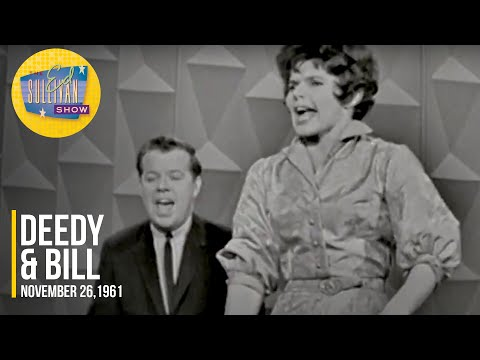 "Deedy & Bill ""I Left A Ring Around The Tub"" on The Ed Sullivan Show"