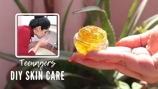TEENAGERS Homemade SUMMER SKIN CARE ROUTINE | 100% NATURAL | That Glam Girl