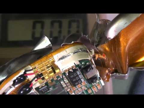 Implantable Defibrillator Teardown
