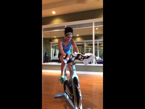 Gina Taylor DeGasperis -Spin Instructor Audition for Towson University's Campus Recreation Serv