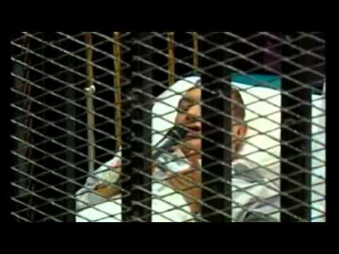 Egyptian protester on Mubarak trial