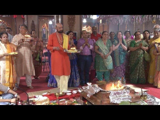 Divya Dham Temple Organizes Pranpratistha Mahotsava 2019 - Woodside - New York
