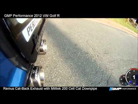 2012 VW Golf R Remus Exhaust