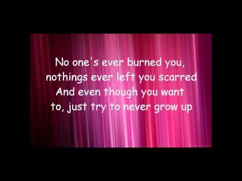 Never Grow Up By Taylor Swift Lyrics