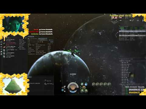 Eve Online Carrier Solo PvP [Thanatos] First Fight
