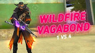 SOLO VS SQUAD || LAST MATCH ON THIS SEASON 🔥|| WITH NEW WILDFIRE VAGABOND BUNDLE😍!!!!!