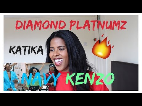 Navy Kenzo feat. Diamond Platnumz - Katika | (***REACTION***)
