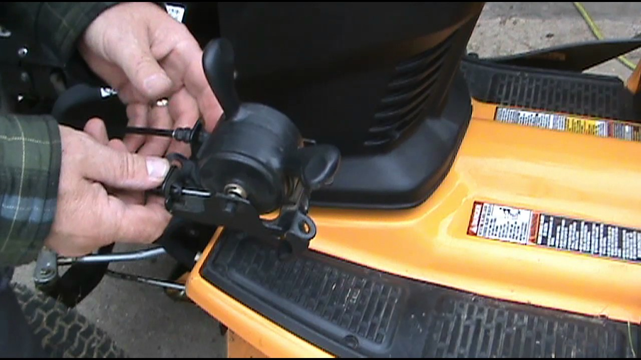 Display on my cub cadet gtx 2154 says low oil, but oil is