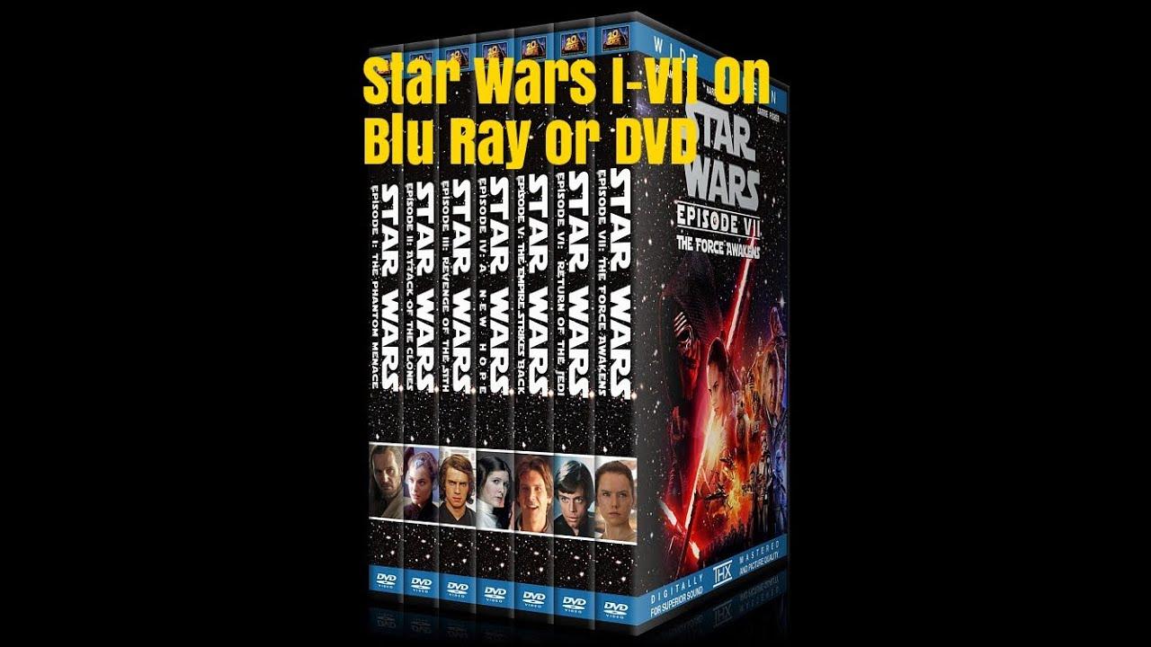 Dvd Star Wars 7