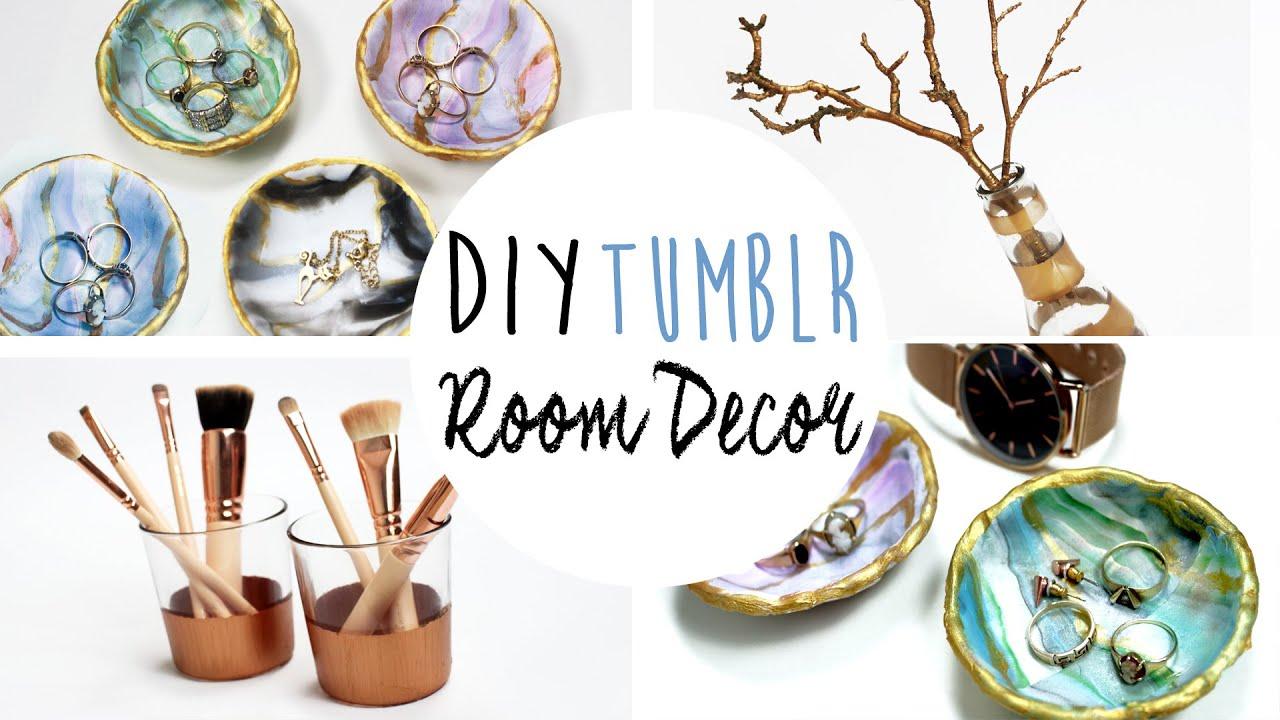 DIY Tumblr Inspired Room Decor YouTube