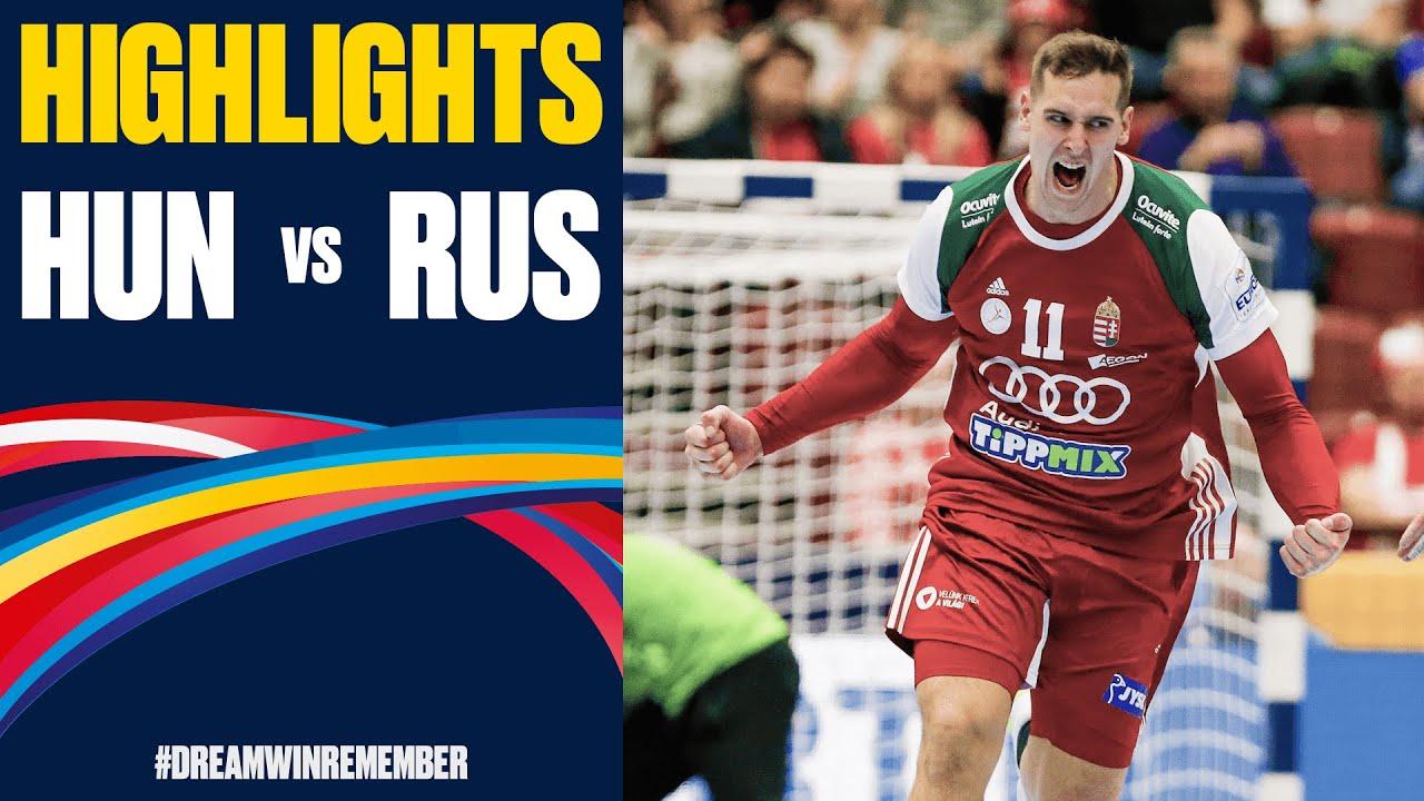 Hungary Vs Russia Highlights Day 3 Men S Ehf Euro 2020