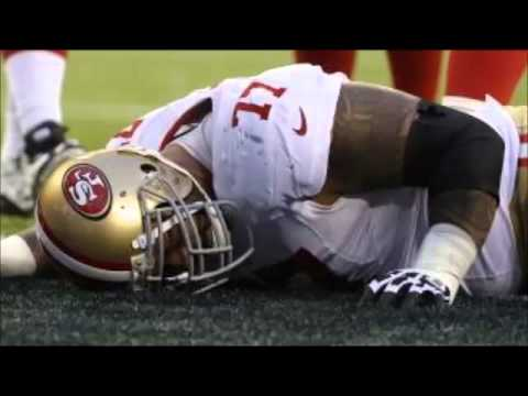 49ERS MIKE LUPATI & NAVORRO BOWMAN Suffer Injuries During NFC Championship Game (1/19/14)