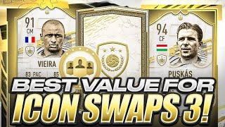 THIS IS THE CRAZIEST ICON SWAPS EVER WTF!!! BEST VALUE FOR ICON SWAPS 3! FIFA 21 Ultimate Team