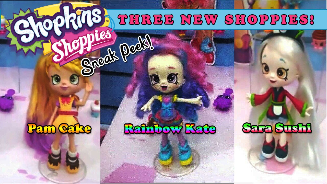Shopkins Shoppies Pam Cake