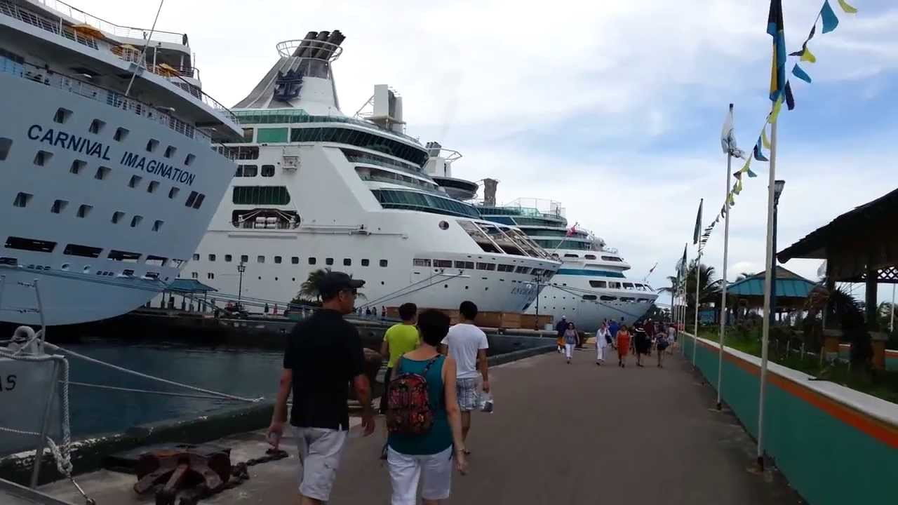 Cruise ship port nassau bahamas vacations youtube - Cruise port nassau bahamas ...