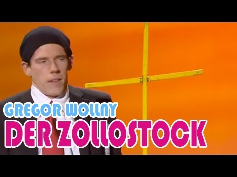 Grégor WOLLNY, Der Zollstock
